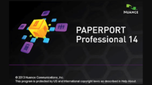 PaperPort Splash Screen