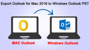 export outlook for mac to pst