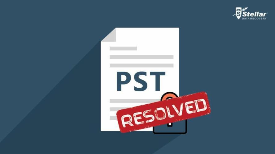Resolve Outlook PST File Locked By another Process