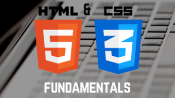 HTML5 and CSS3 Fundamentals