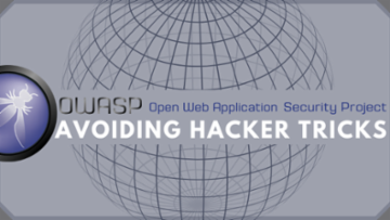 OWASP: Avoiding Hacker Tricks