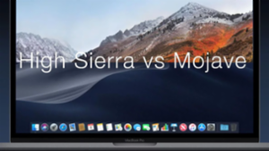 macOS High Sierra vs Mojave