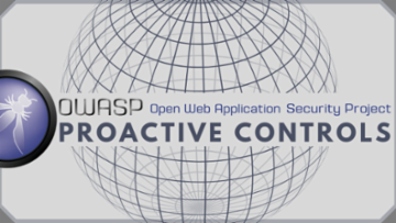 OWASP Proactive Controls
