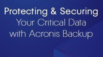 Protecting & Securing Your Critical Data