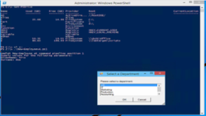 Streamlining User Account Off-boarding - Powershell (AD, Exchange, Helpdesk Ticket) -