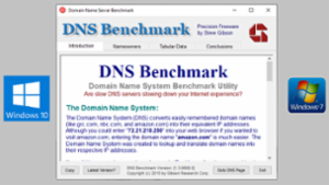 DNS Benchmark from Steve Gibson -