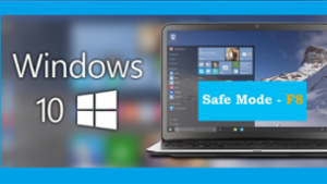 Restore F8 functionality to Boot Windows 10 into Safe Mode -