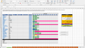 Summary of Bill Paying Spreadsheet