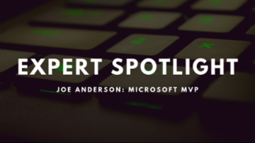 Expert Spotlight: Joe Anderson (DatabaseMX)
