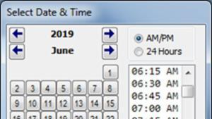 Date Time Picker