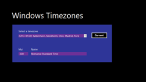 Time Zones, Windows, and VBA - Part 1