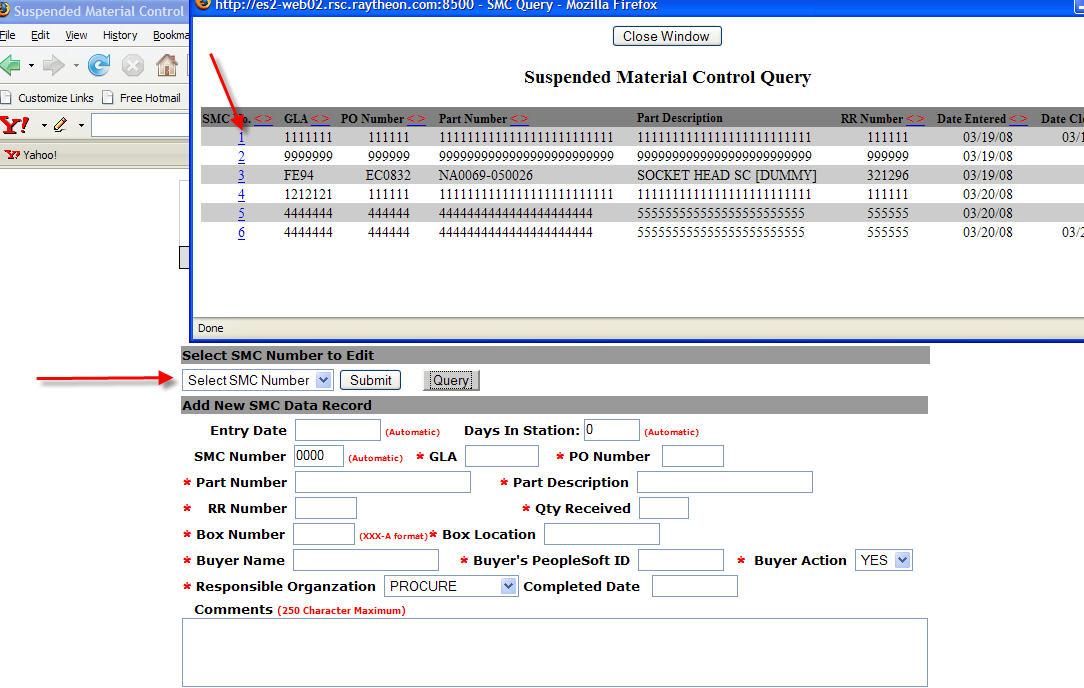 Select Field on Open PopUP window, populate parent window