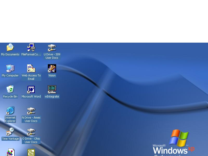 How to remove ghost image on desktop icons