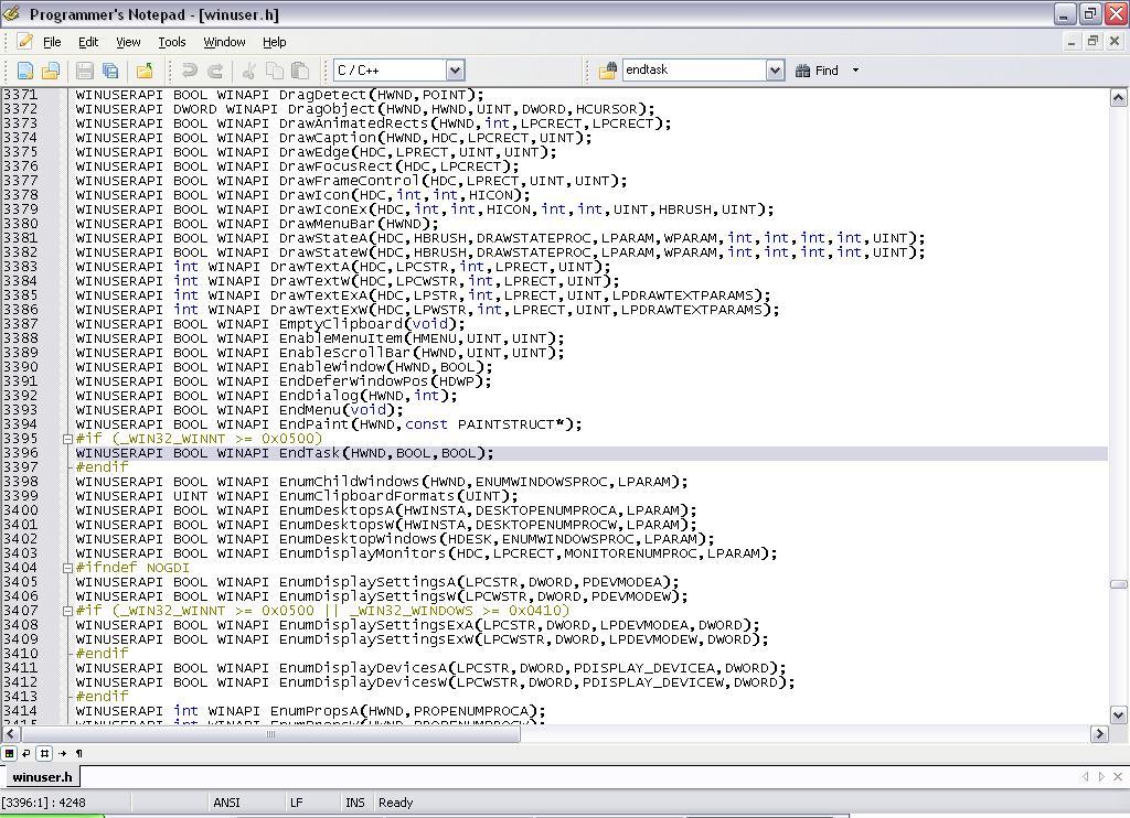 C++] Kill a process