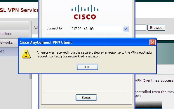 Cisco AnyConnect SSL VPN to ASA5510