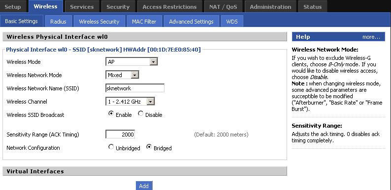 increase the range of Linksys WRT54G router