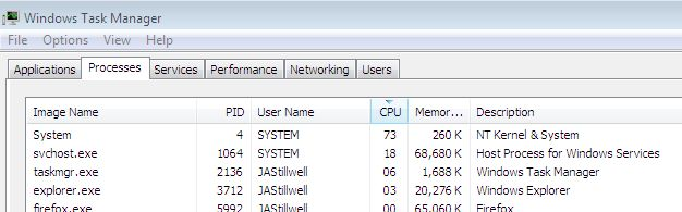 Trend Micro Worry Free causing System process (PID 4) to hog CPU cycles