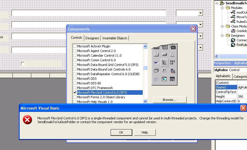 Microsoft Hierarchical FlexGrid (MSHFlexGrid) and Microsoft