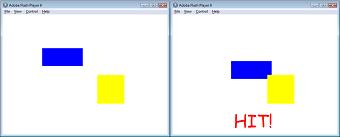 hitTest rectangles