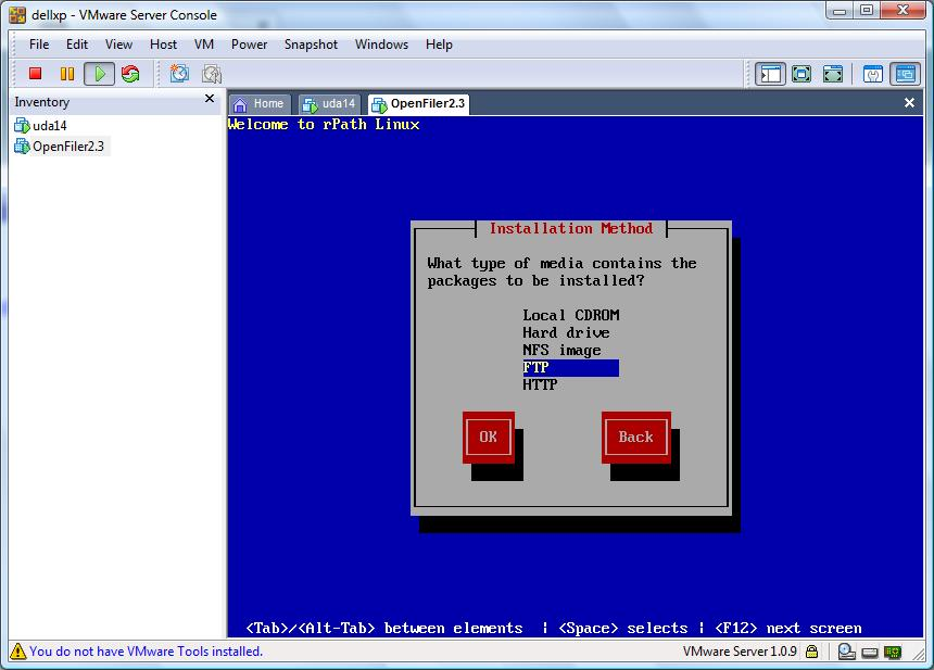 Using PXE for virtual machine (vmware) ?