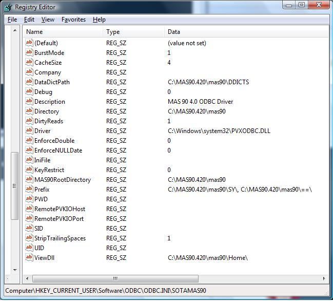 MAS 90 4.0 ODBC WINDOWS 8 X64 DRIVER DOWNLOAD