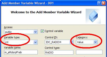 Adding an 'int' Value Variable to the Dialog