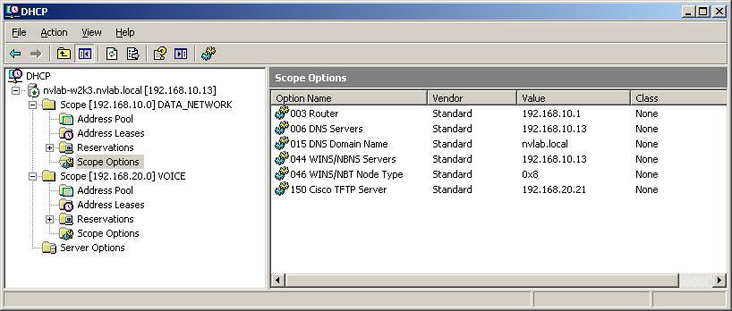 Cisco 7945G IP Phone DHCP Problem