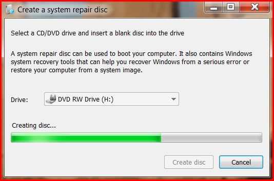 Creating Disk