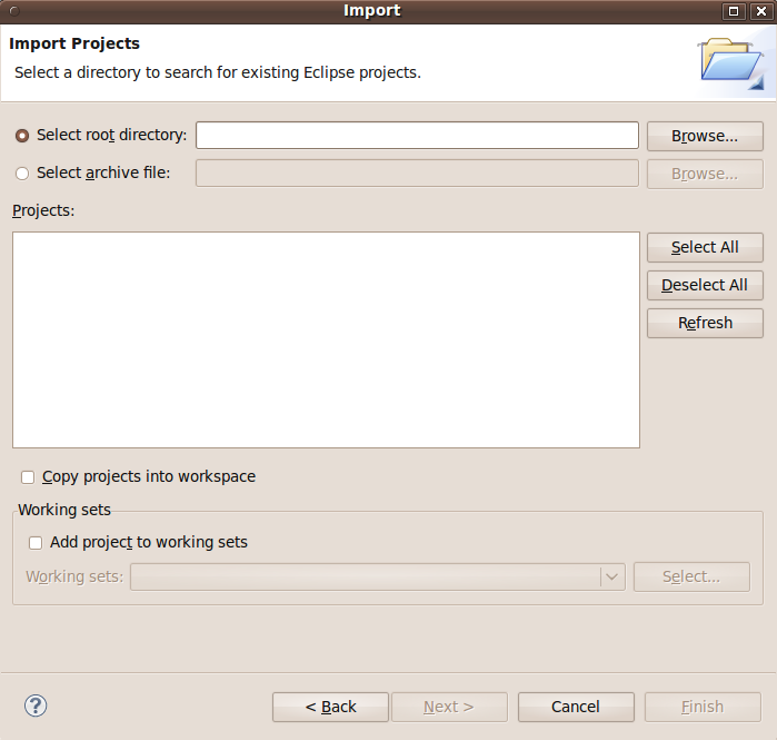 Import Dialog (Existing)