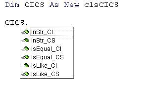 class intellisense example 1
