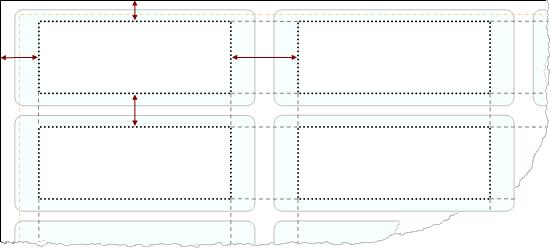 print layout metrics
