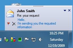 Desktop Alert box