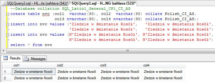 SOLUTION] SQL Server 2008 - can't insert and see polish characters