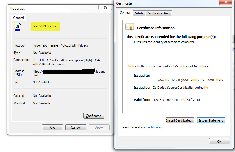 How do I associate a certificate with an AnyConnect VPN profile?