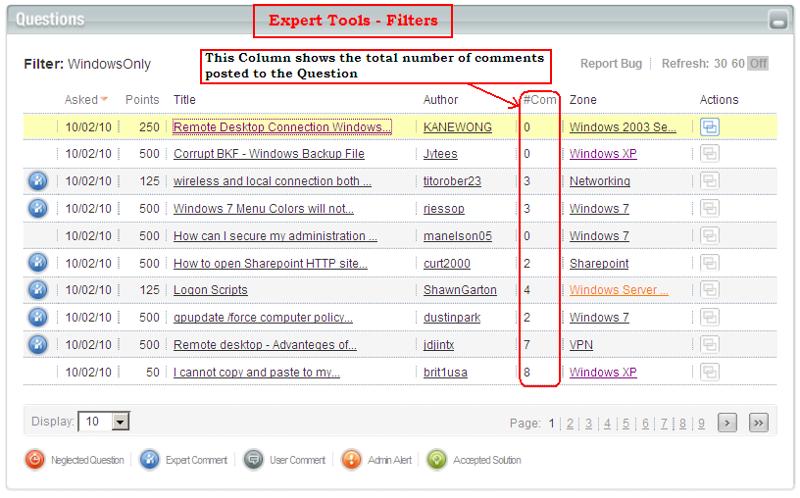 Filters - Expert Tools