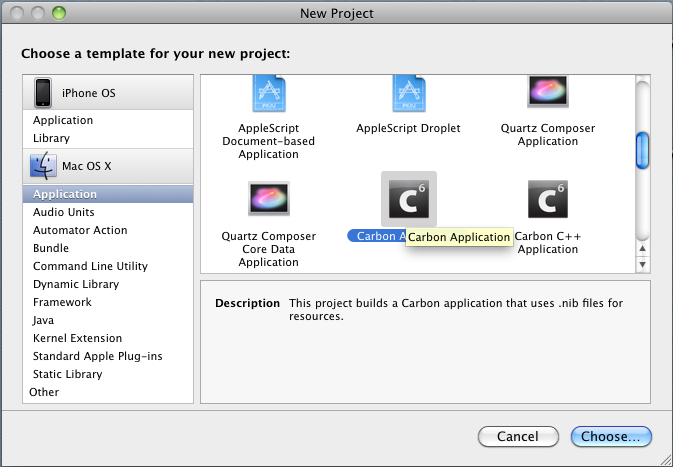 Xcode. New Project.