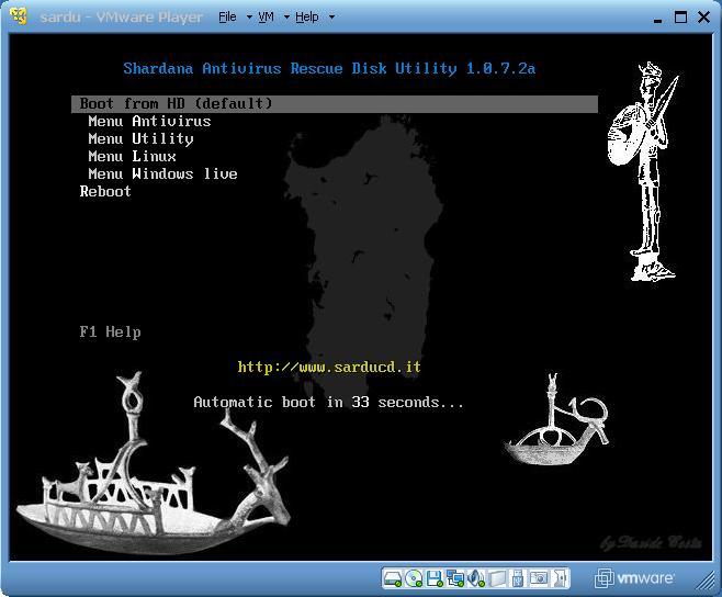 My SARDU build running in a Virtual Machine