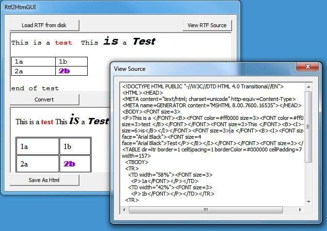 GUI version illustrates the conversion