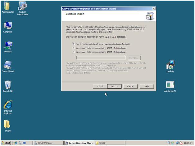 3-import previous settings