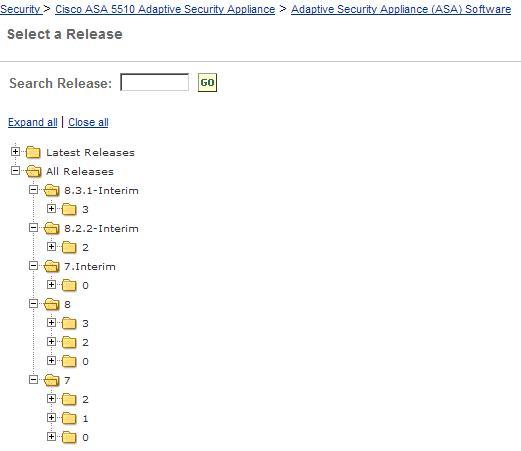 Cisco ASA 5510 ISO and Memory upgrade