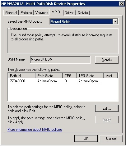 HP MPIO DSM WINDOWS DRIVER DOWNLOAD
