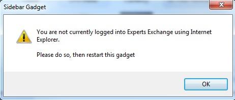 gadget-error