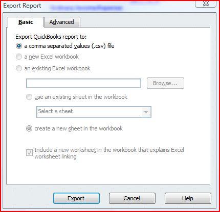 qbooks export