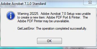 add adobe pdf printer windows 7 64 bit