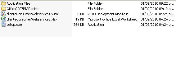 run an excel file that calls a web service