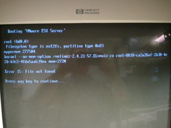 Reboot Fails?