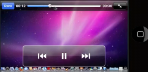 video buttons