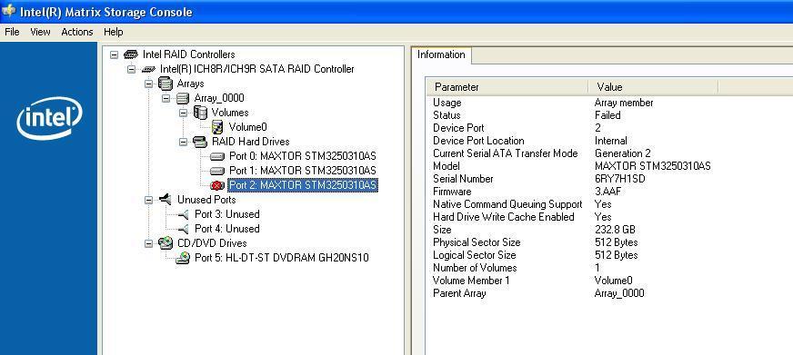 ICH8R SATA RAID CONTROLLER WINDOWS XP DRIVER