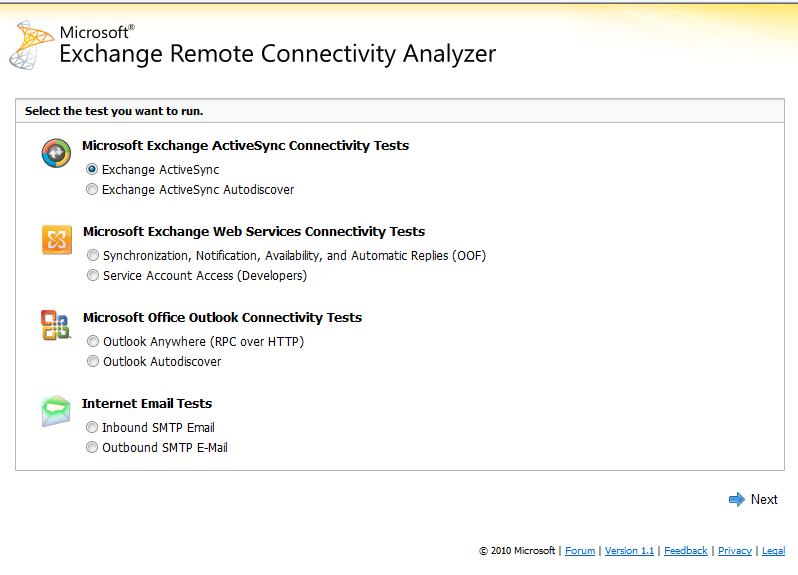 Test Remote Connectivity