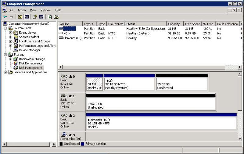 Windows Disk Part Info